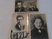 открытки послевоенные артисты